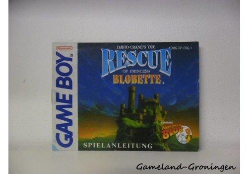Rescue of Princess Blobette (Handleiding, FRG)