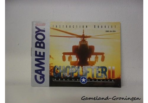 Choplifter II Rescue Survive (Handleiding, USA)