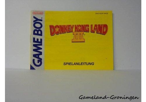 Donkey Kong Land III (Handleiding, NOE)