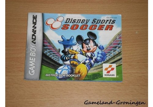 Disney's Sports Soccer (Manual, USA)
