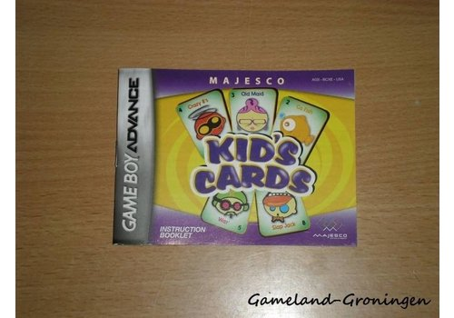 Kid's Cards (Manual, USA)