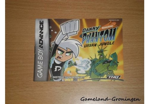 Danny Phantom Urban Jungle (Handleiding, USA)