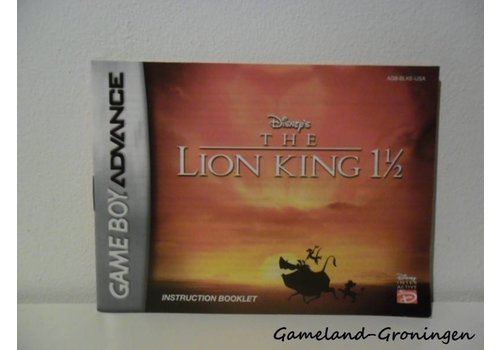 Disney's The Lion King (Handleiding, USA)