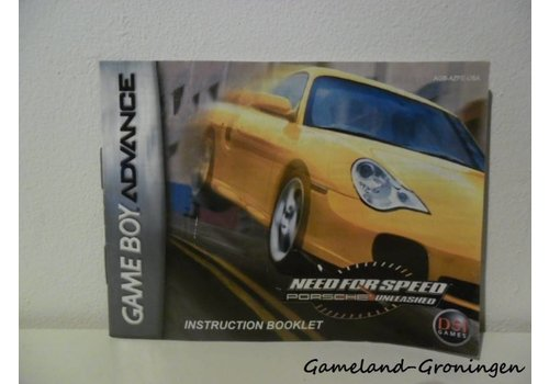 Need for Speed Porsche Unleashed (Manual, USA)