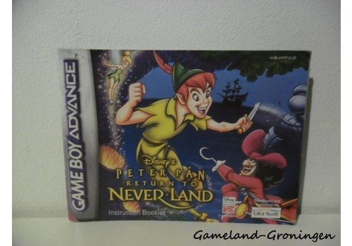 Disney's Peter Pan Return to Neverland (Manual, EUR)
