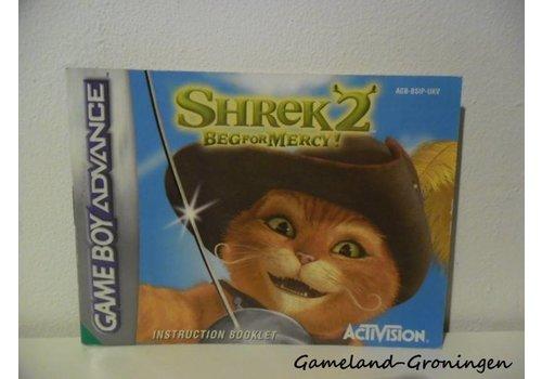 Shrek 2 Beg for Mercy (Handleiding, UKV)
