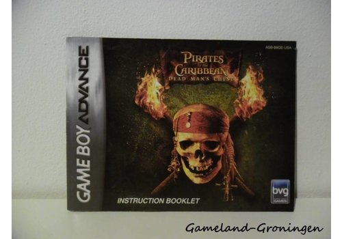 Pirates of the Caribbean Dead Man's Chest (Manual, USA)