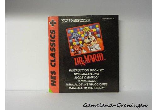 NES Classics Dr. Mario (Handleiding, NEU6)