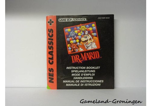 NES Classics Dr. Mario (Manual, NEU6)