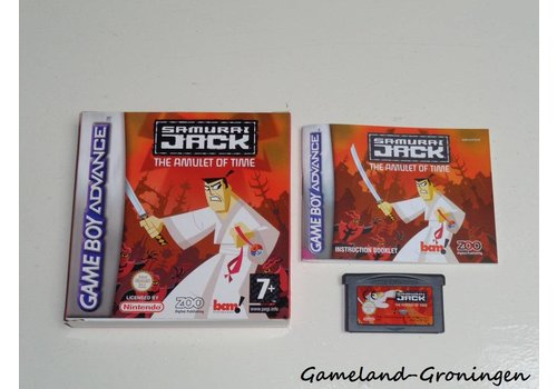 Samurai Jack The Amulet of Time (Compleet, EUR)