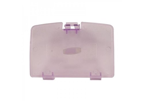 Battery Cover Clear Purple