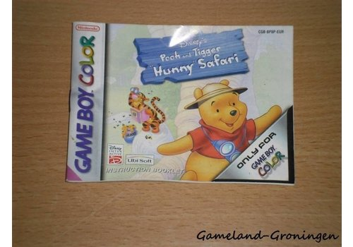 Disney's Pooh & Tigger's Hunny Safari (Manual, EUR)