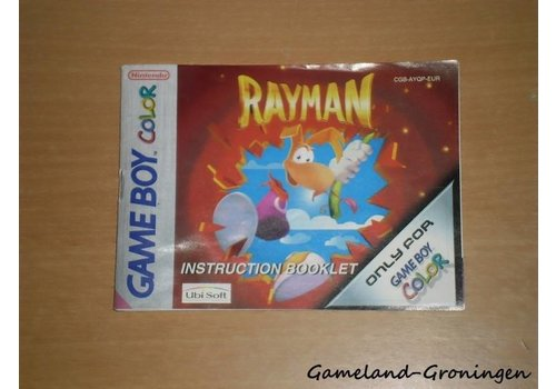 Rayman (Handleiding, EUR)