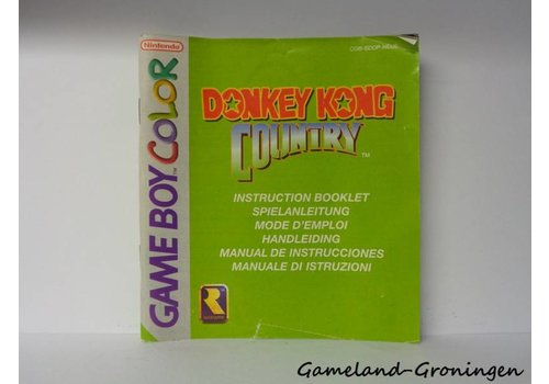 Donkey Kong Country (Manual, NEU6)