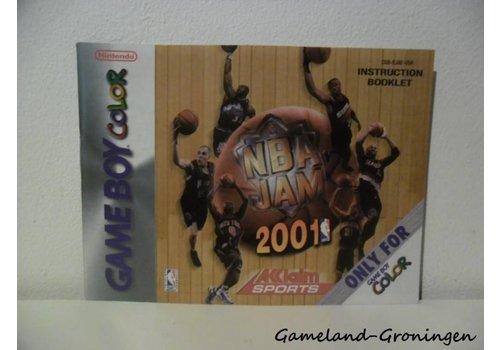 NBA Jam 2001 (Handleiding, USA)
