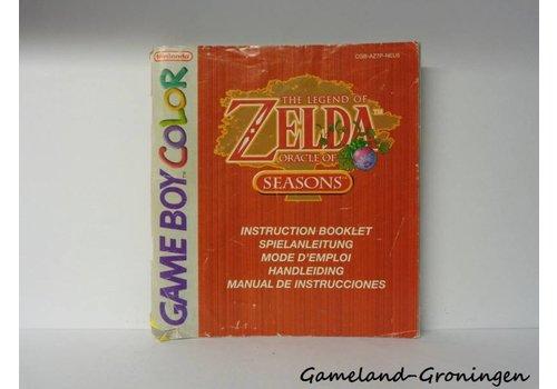 The Legend of Zelda Oracle of Seasons (Handleiding, NEU5)