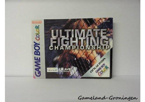 Ultimate Fighting Championship (Manual, EUR)