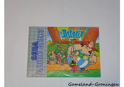 Asterix and the Secret Mission (Manual)