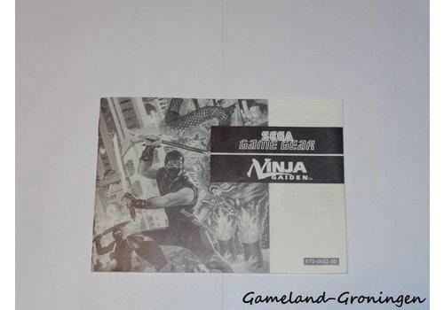 Ninja Gaiden (Manual)