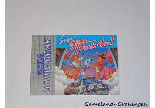 SEGA Game Pack 4 in 1 (Manual)