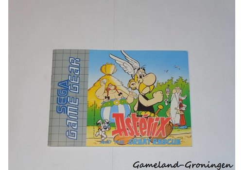 Asterix and the Great Rescue (Handleiding)