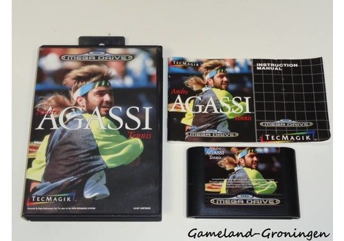 Andre Agassi Tennis (Complete)