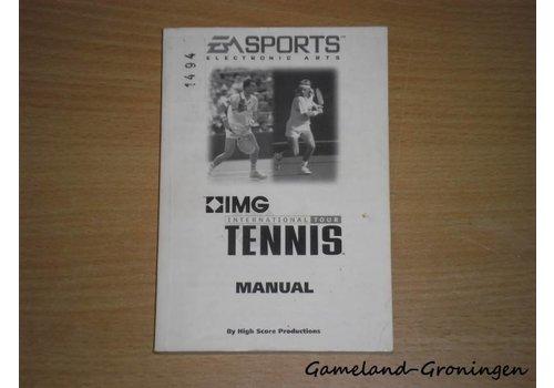 IMG International Tour Tennis (Handleiding)
