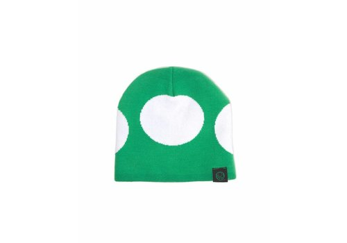Super Mario - Mushroom Green Beanie