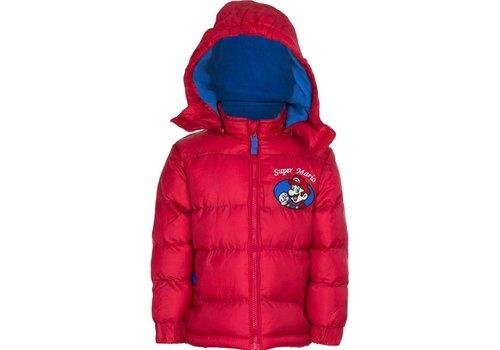 Super Mario - Kids Winter Jacket Red