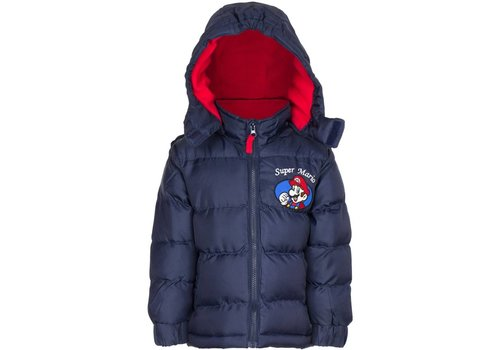 Super Mario - Kids Winter Jacket Black