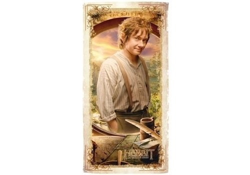 The Hobbit - Bilbo Bath Towel 140 x 70 cm