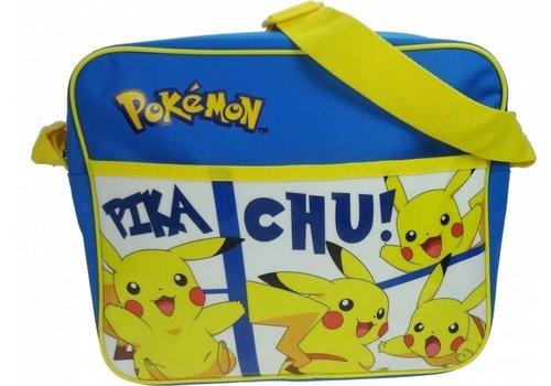 Pokémon - Pikachu Schoudertas Blauw