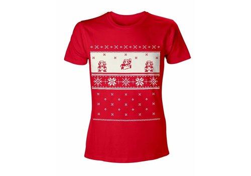 Super Mario - Mario Kerst T-Shirt