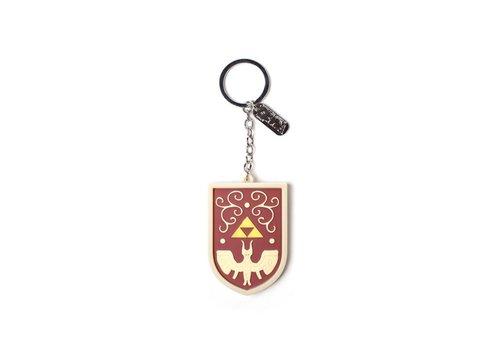 Zelda - Hero's Shield 3D Rubber Keychain
