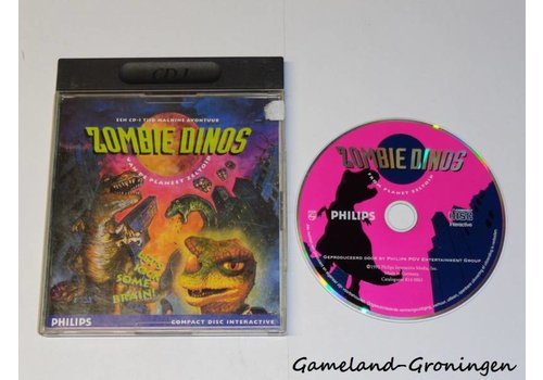 Zombie Dinos of the Planet Zeltoid (Complete)