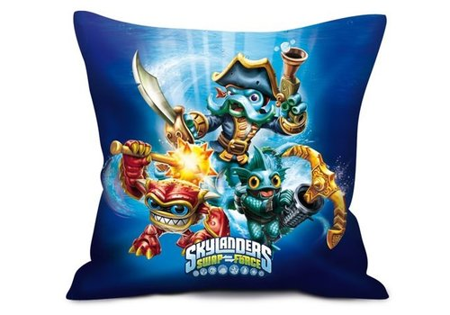 Skylanders Swap Force - Blue Pillow 35 x 35 cm