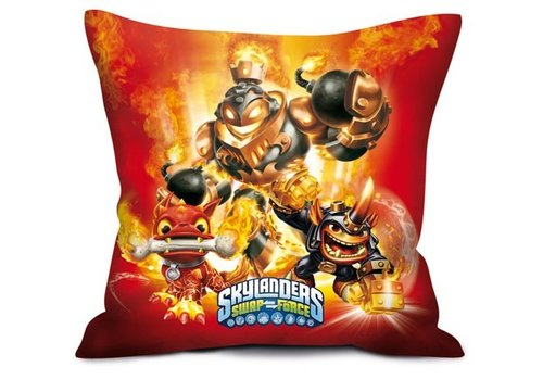 Skylanders Swap Force - Red Pillow 35 x 35 cm
