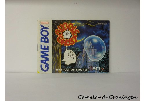 Bubble Ghost (Handleiding, SCN)