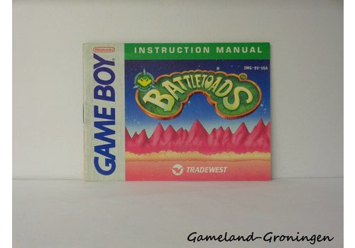 Battletoads (Manual, USA)