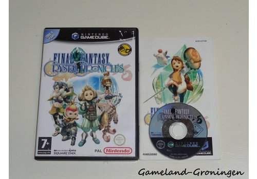 Final Fantasy Crystal Chronicles (Compleet, HOL)