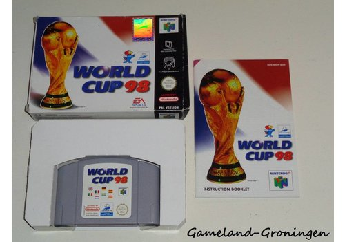 World Cup 98 (Complete, EUR)