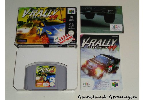 V-Rally Edition 99 (Complete, EUR)