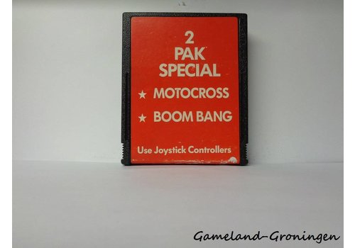 2 Pak Special Motocross & Boom Bang