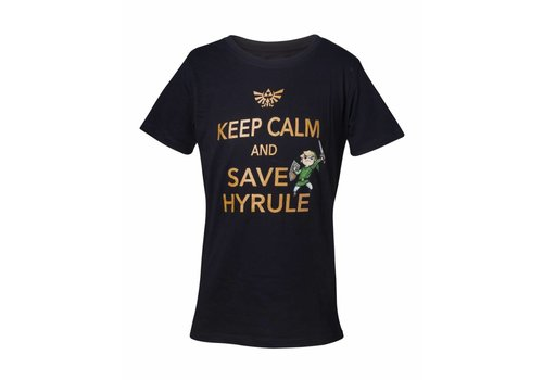 Zelda - Keep Calm and Save Hyrule Kinder T-Shirt