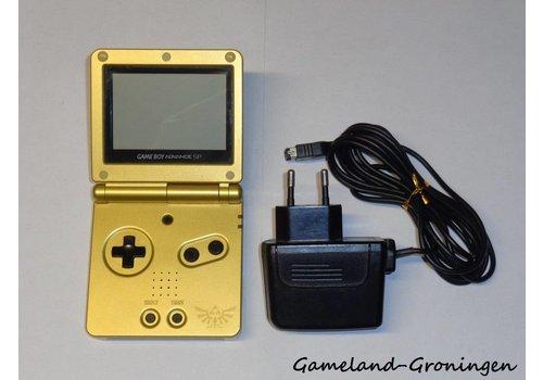 Gameboy Advance SP met Oplader (Zelda Edition)