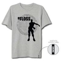 Fortnite - Floss Grey T-Shirt (New)