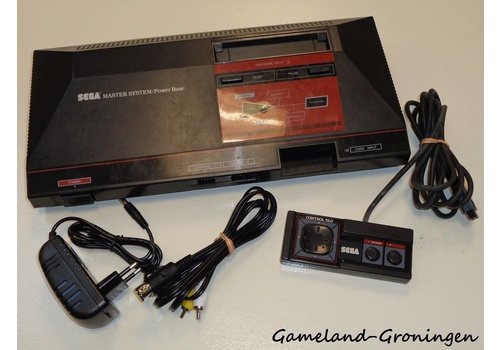 Sega Master System with Controller & Wiring