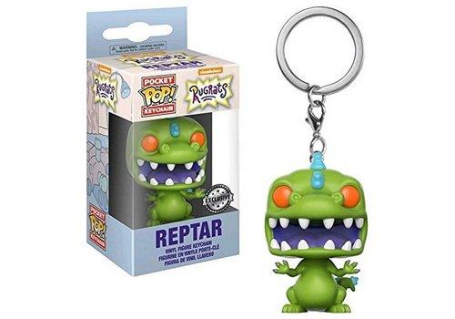 Rugrats Pocket POP Sleutelhanger Reptar 5 cm
