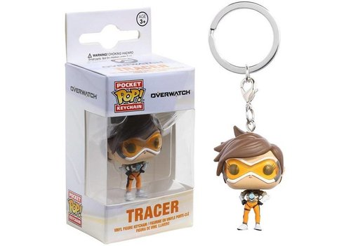 Overwatch Pocket POP Keychain Tracer 5 cm