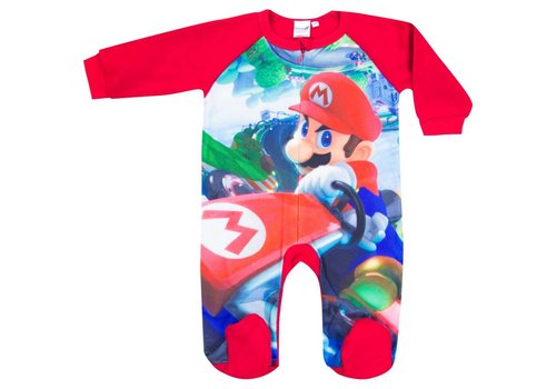 Super Mario - Mario Kart Baby Suit Red